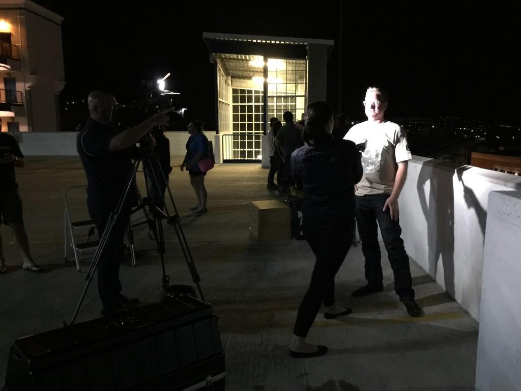 Dan Ruby, Director of the Fleischmann Planetarium is interviewed about the eclipse.